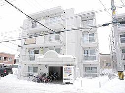 レジデンス白石B[4階]の外観