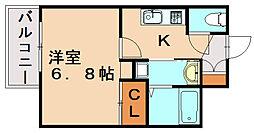 DSタワー大博通り[14階]の間取り