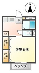 サープラスウィング[2階]の間取り