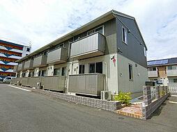 福岡県北九州市小倉北区篠崎2丁目の賃貸アパートの外観