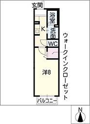 アズハイムII[2階]の間取り