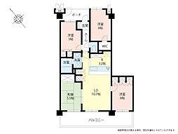 マンション(狭山ヶ丘駅から徒歩20分、4LDK、1,880万円)