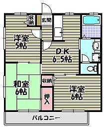 グランパ[2階]の間取り