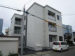 北海道札幌市北区篠路四条5丁目の賃貸アパートの外観