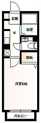 ドゥリームハウス[2階]の間取り