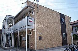 千葉県千葉市花見川区幕張町6丁目の賃貸アパートの外観