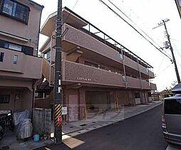 京都府城陽市久世北垣内の賃貸マンションの外観