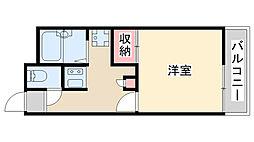 兵庫県神戸市北区山田町小部大東の賃貸アパートの間取り