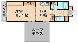 パークレジデンス[7階]の間取り