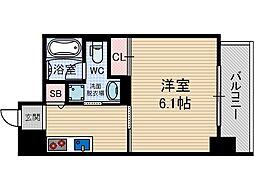 OAZO千里丘[8階]の間取り
