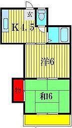 プチマンション[2階]の間取り