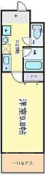 プロシード長居公園通[3階]の間取り