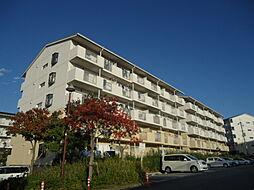 鹿の子台北ハイツ 10号棟[3階]の外観