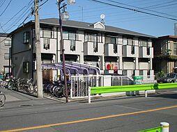 東京都葛飾区亀有4丁目の賃貸アパートの外観