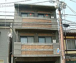 京都府京都市北区紫竹下芝本町の賃貸マンションの外観