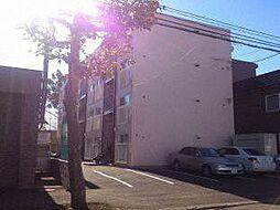 北海道札幌市北区北十九条西2丁目の賃貸マンションの外観