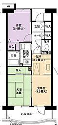 URアーバンラフレ小幡4号棟[1階]の間取り