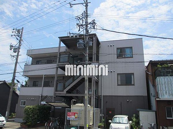 コーポ都 3階の賃貸【愛知県 / 名古屋市東区】