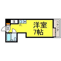 プログレス錦[2階]の間取り