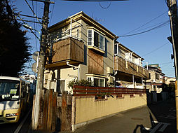 埼玉県所沢市けやき台1丁目の賃貸アパートの外観