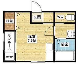 Maison Vettey[2階]の間取り