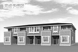 波志江町アパート[0201号室]の外観