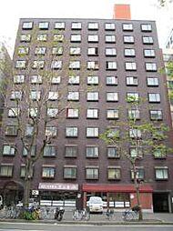 北海道札幌市中央区南四条西10丁目の賃貸マンションの外観