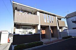 栃木県宇都宮市富士見町の賃貸アパートの外観