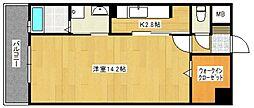 サンセール宮ノ陣[5階]の間取り