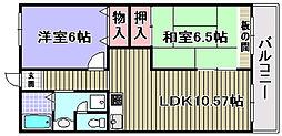 ドルチェ2[1階]の間取り