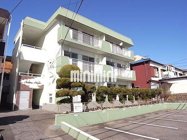青島ハイツ[3階]の外観