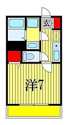 プリズム8番館[1階]の間取り