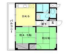 第5ミサワハウス[301 号室号室]の間取り
