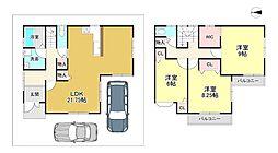 一戸建て(長岡京駅からバス利用、109.36m²、2,556万円)