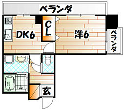 メモリープラザ小倉[5階]の間取り