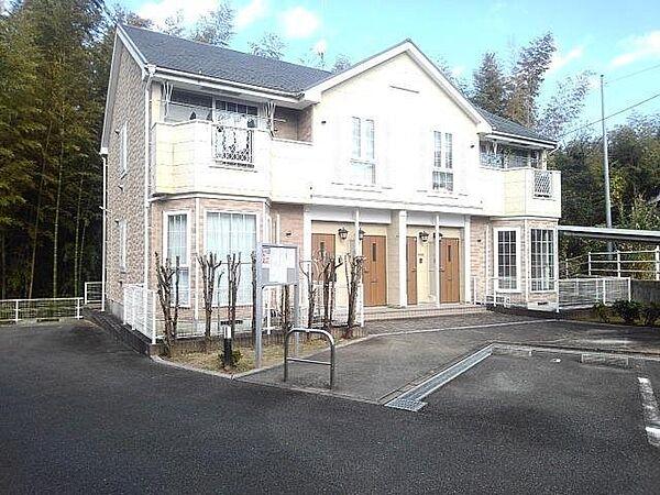 福岡県久留米市三潴町西牟田の賃貸アパートの外観