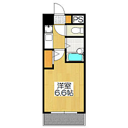ラナップスクエア京都北野[208号室]の間取り