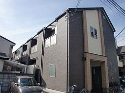 兵庫県西宮市鳴尾町1丁目の賃貸アパートの外観