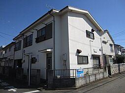 東京都東久留米市金山町2丁目の賃貸アパートの外観