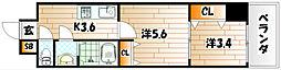 デザイナープリンセス77[8階]の間取り