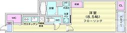 仙台市営南北線 八乙女駅 徒歩33分の賃貸アパート 1階1Kの間取り