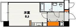 京都府京都市下京区植松町の賃貸マンションの間取り
