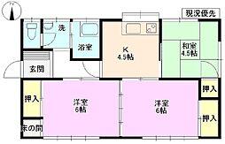 [一戸建] 長野県長野市吉田5丁目 の賃貸【/】の間取り