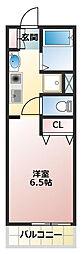 (仮称)船橋新築アパート[101号室]の間取り