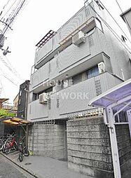 京都府京都市右京区西院西淳和院町の賃貸マンションの外観