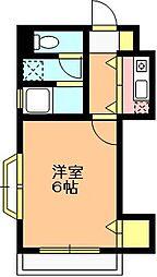 埼玉県上尾市柏座2丁目の賃貸アパートの間取り
