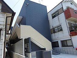 安立荘[1階]の外観