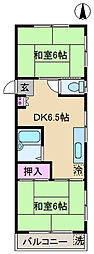 東京都北区堀船3丁目の賃貸マンションの間取り