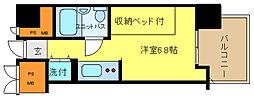 兵庫県姫路市東延末3丁目の賃貸マンションの間取り