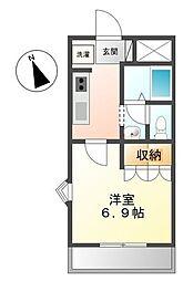marimoco[1階]の間取り